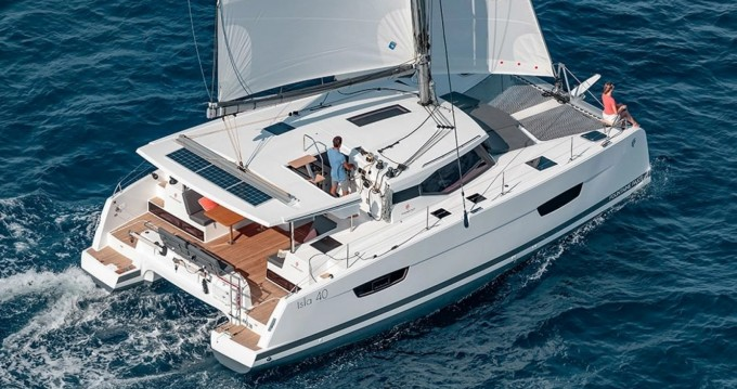Catamaran for rent Bandol at the best price