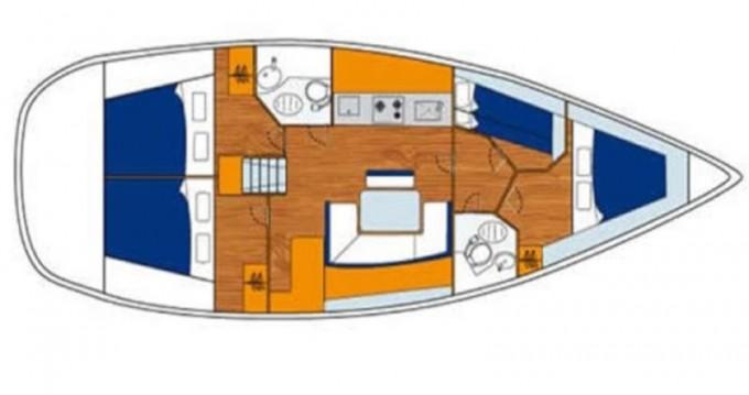 Boat rental Lefkada (Island) cheap Cyclades 43.4