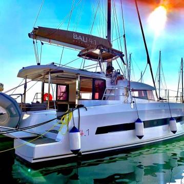 Hire Catamaran with or without skipper Bali Catamarans Lefkas Marina