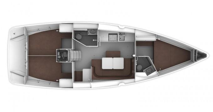 Boat rental Bavaria Bavaria 41 Cruiser in Trogir on Samboat