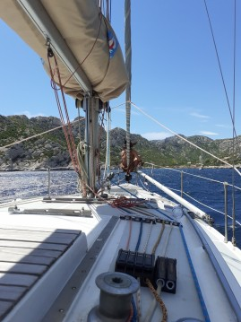 Hire Sailboat with or without skipper CNS0 Marseille