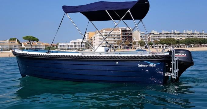 Boat rental Silver 495 in Palamós on Samboat