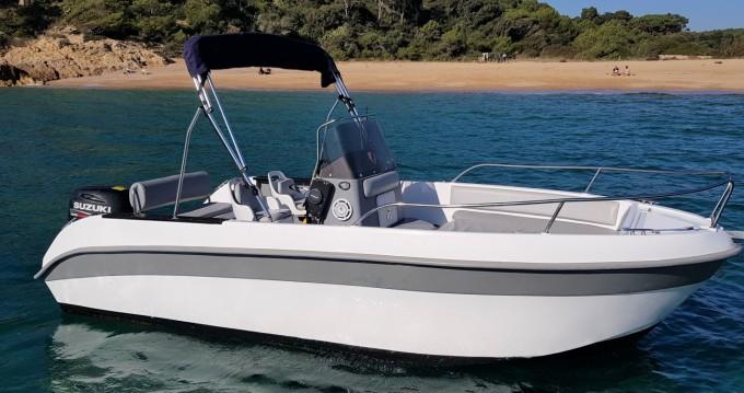 Boat rental Astec 540 open in Palamós on Samboat
