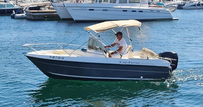 Boat rental Cn-Cap-Ferret Cap Ferret 502 in Ibiza Island on Samboat