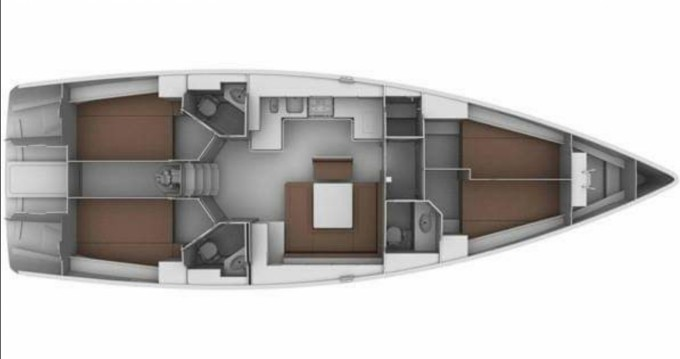 Rent a Bavaria Cruiser 45 Piombino