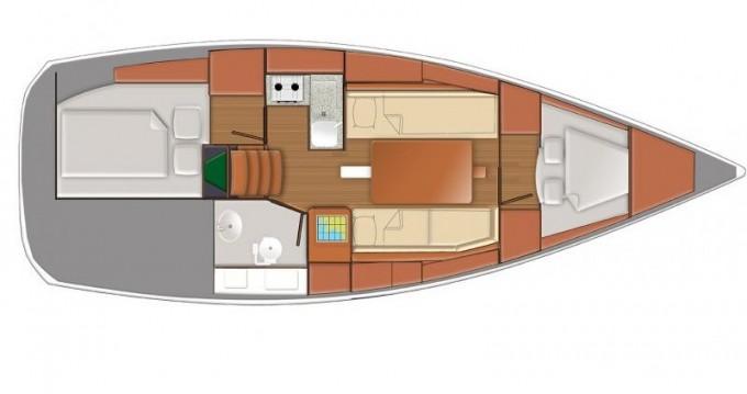 Rent a Jeanneau Sun Odyssey 319 Porto di Balestrate