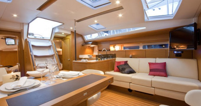 Boat rental Alimos cheap Jeanneau 53
