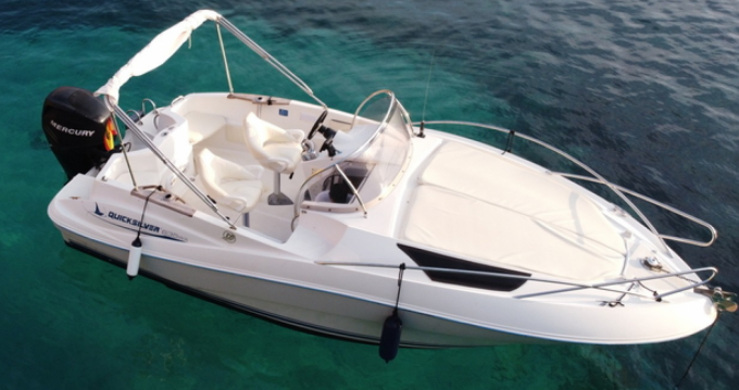Quicksilver Quicksilver 635 between personal and professional Ibiza Island