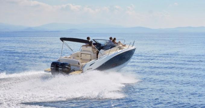 Rental Motorboat in Ibiza Island - Quicksilver Activ 875 Sundeck