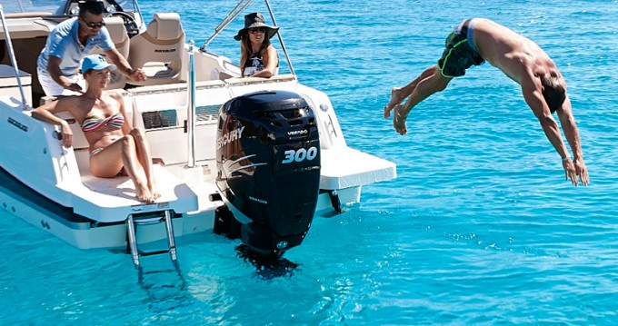 Hire Motorboat with or without skipper Quicksilver Ibiza Island