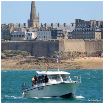 Hire Motorboat with or without skipper Ocqueteau Saint-Malo