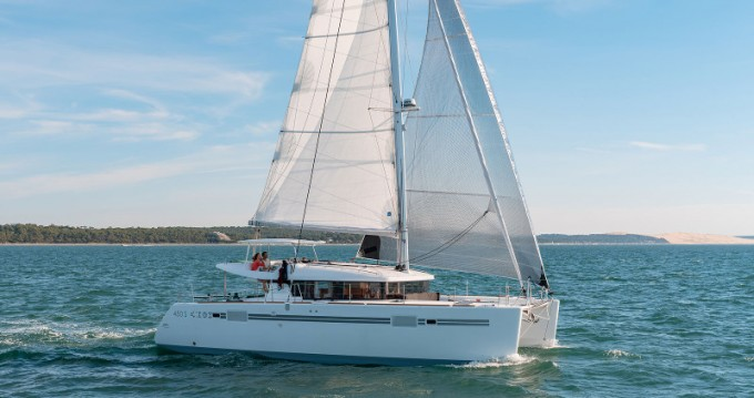 Rental yacht Rogoznica - Lagoon Lagoon 450 Sport Top on SamBoat