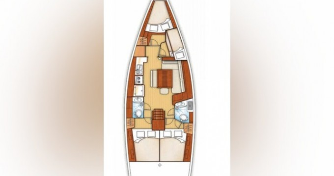 Bénéteau Oceanis 43 between personal and professional Fethiye