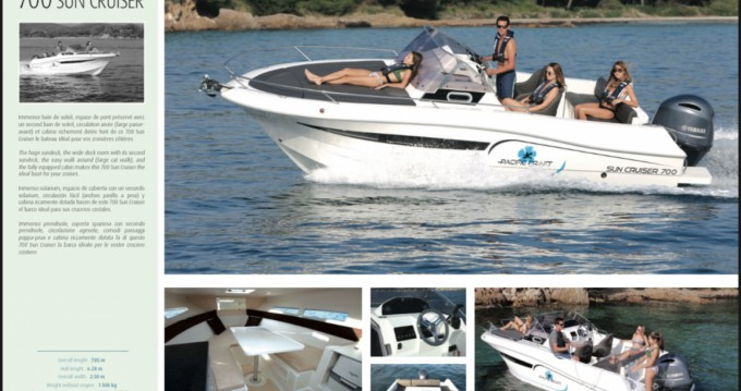 Boat rental Pacific Craft Pacific Craft 700 DC in Formentera on Samboat