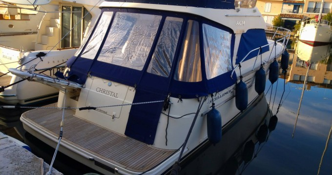 Rental Motorboat Acm 38 with a permit
