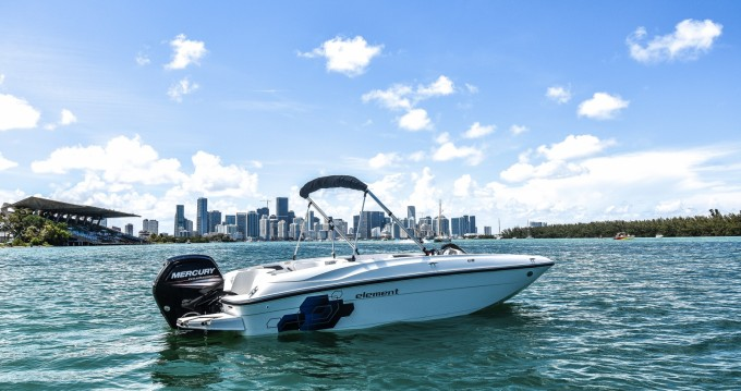 Bayliner Element XL between personal and professional Miami