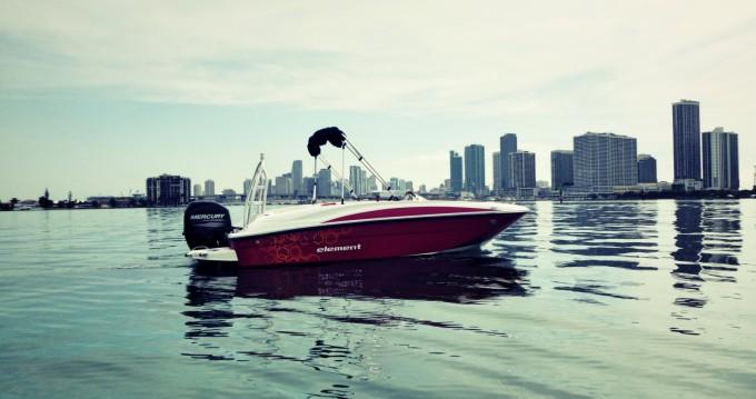 Boat rental Miami cheap Element 160