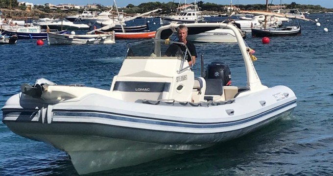 Hire RIB with or without skipper Lomac Ibiza Island