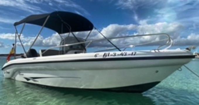 Rental Motorboat Ranieri with a permit