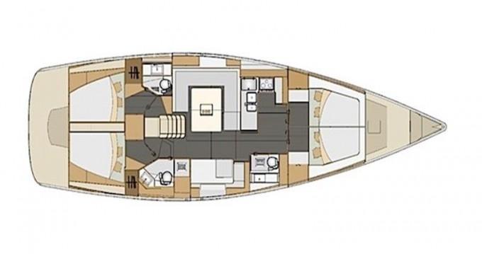 Rental Sailboat in Trogir - Elan Elan 50 Impression (4+1 cabins)