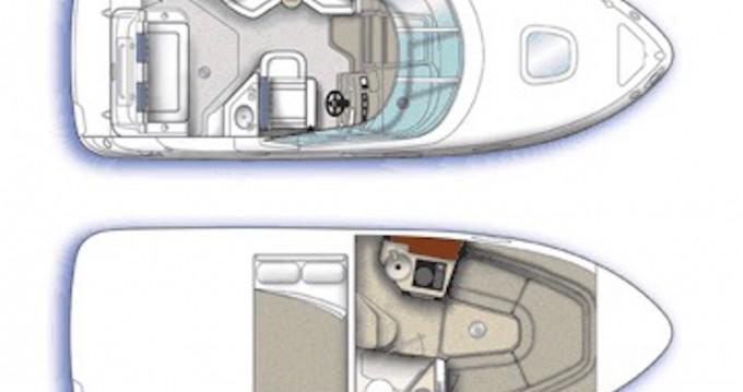 Boat rental Sea Ray Sea Ray Sundancer 240 in Bodrum on Samboat