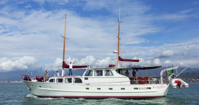Rental yacht Ponza - NAVETTA OLANDESE AUPER VAN CRAFT on SamBoat
