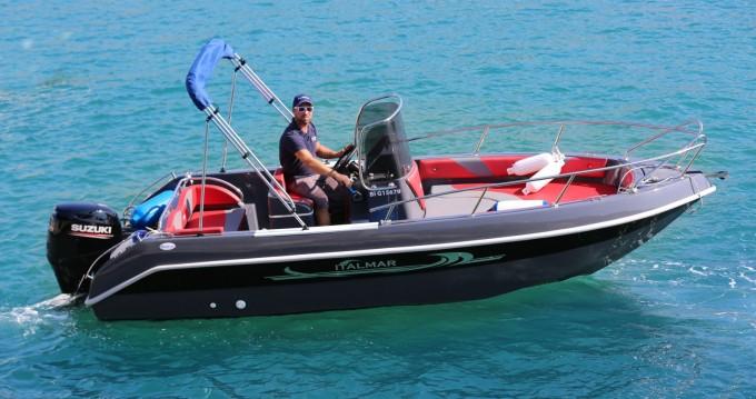 Rental Motorboat Italmar with a permit