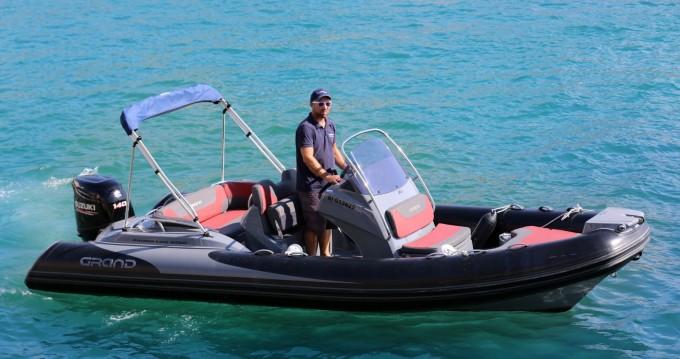 Rental yacht Cassis - Grand Boats Golden Line G580LF on SamBoat