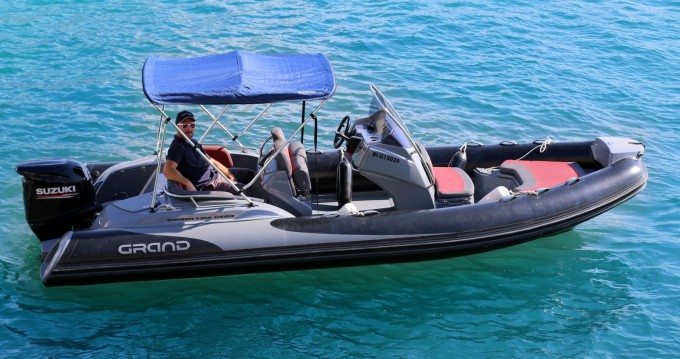 Hire RIB with or without skipper Grand Boats Cassis