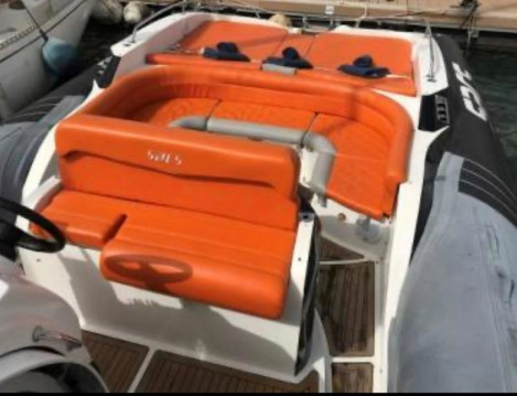 Hire RIB with or without skipper Sacs Ibiza Island
