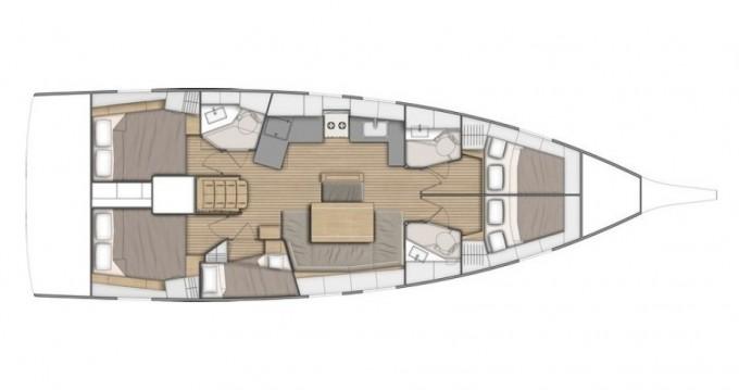 Rent a Bénéteau Oceanis 46.1 Marina di Portorosa