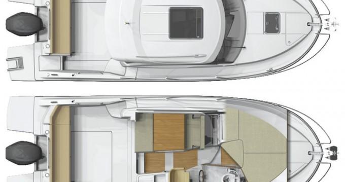 Boat rental Šibenik cheap Antares 8 OB