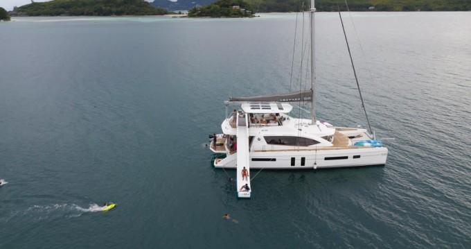 Rental Catamaran in Eden Island - Leopard Leopard 58