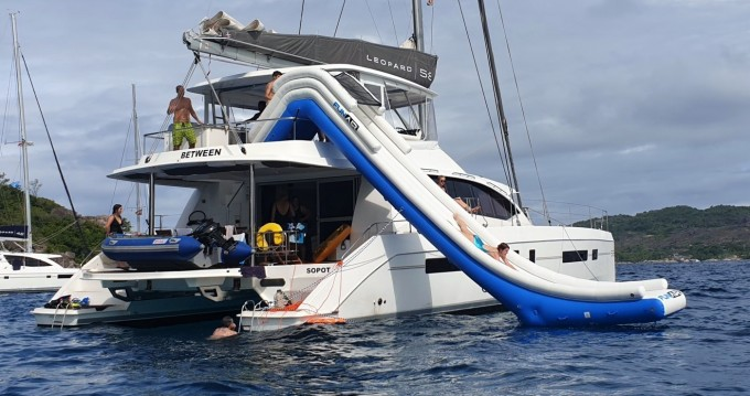 Hire Catamaran with or without skipper Leopard Eden Island