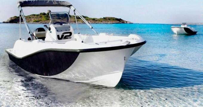 Rental Motorboat in Puerto de Pollensa - V2 BOATS 5.0 SPORT