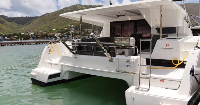 Rent a Fountaine Pajot Lucia 40 Tortola