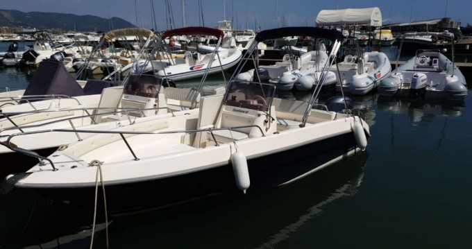 Hire Motorboat with or without skipper Open Romar Salerno