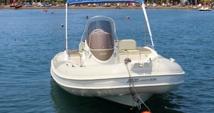 Joker Boat Wide 520 between personal and professional Vulcano Porto