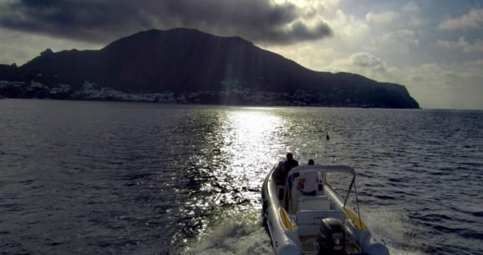 Hire RIB with or without skipper Lomac Vulcano Porto