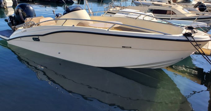 Rental Motorboat in Cannes - Clear Aries Xl