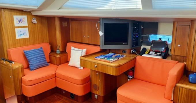Boat rental  Najad 570 CC in Antigua on Samboat