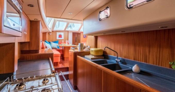Rental Sailboat in Antigua -  Najad 570 CC