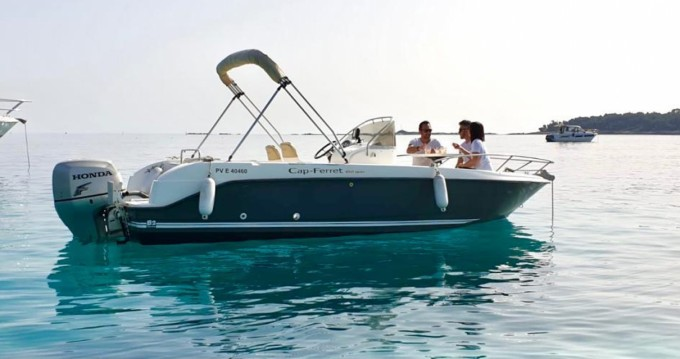 Hire Motorboat with or without skipper B2 Marine Mandelieu-la-Napoule