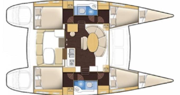 Catamaran for rent Lefkáda at the best price