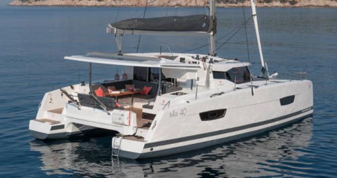 Rental yacht Ajaccio - Fountaine Pajot Isla 40 on SamBoat