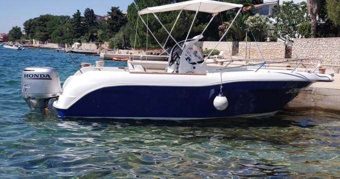 Boat rental Stara Novalja cheap Quicksilver 630 Commander