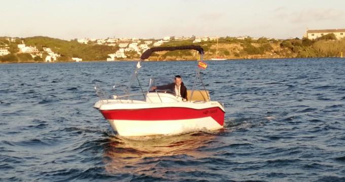 Boat rental Mahón cheap 450 open