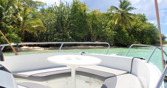 Boat rental Jeanneau Cap Camarat 6.5 CC Serie 3 in Pointe-à-Pitre on Samboat