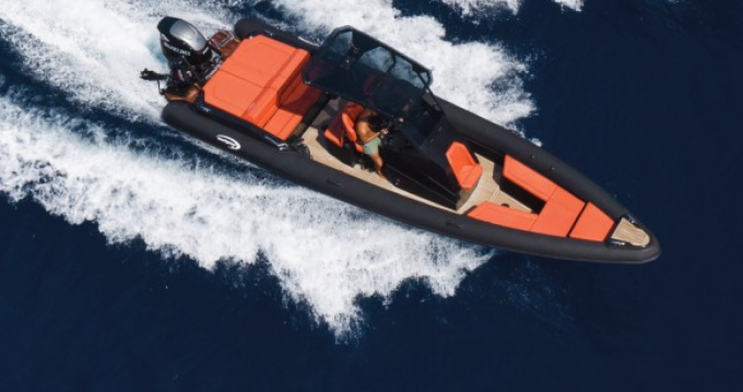 Rental RIB SEA FIGHTER with a permit