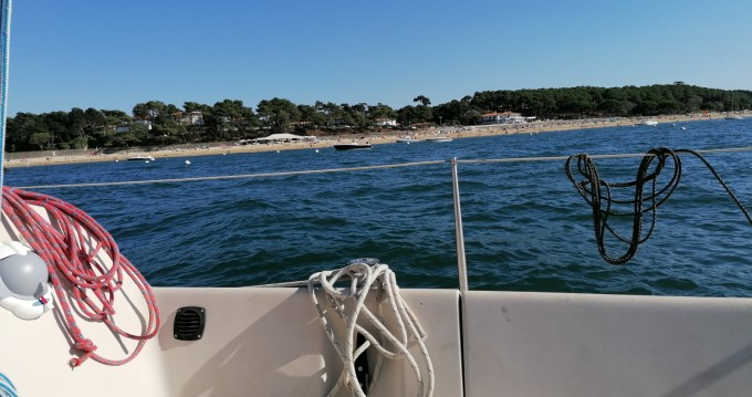 Bénéteau First 24 between personal and professional Arcachon